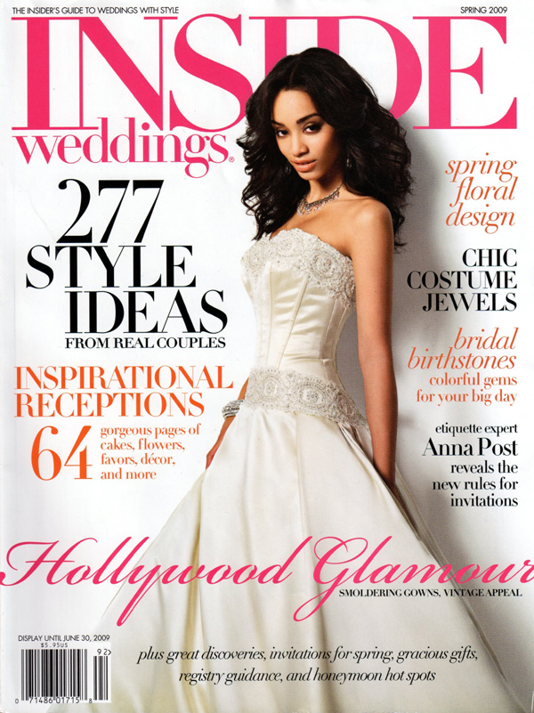 InsideWeddingsSpring2009Cover