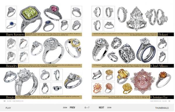 Inside weddings engagement ring gallery