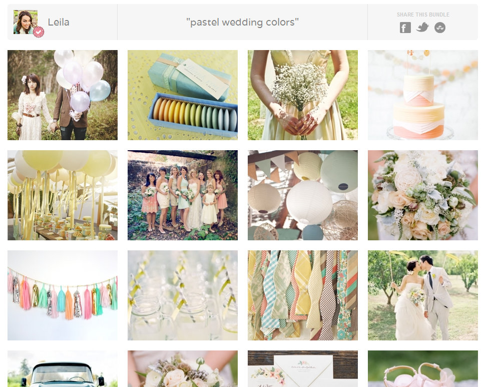Inspired By These Pastel Wedding Ideas Found On Loverly