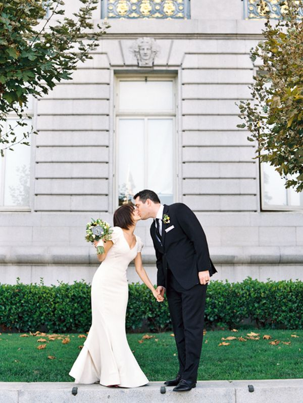Intimate San Francisco City Hall Wedding Inspired By This