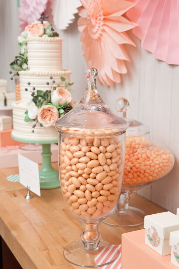 Pink And Mint Green Baby Shower Decorations  from d259o9es2o749h.cloudfront.net