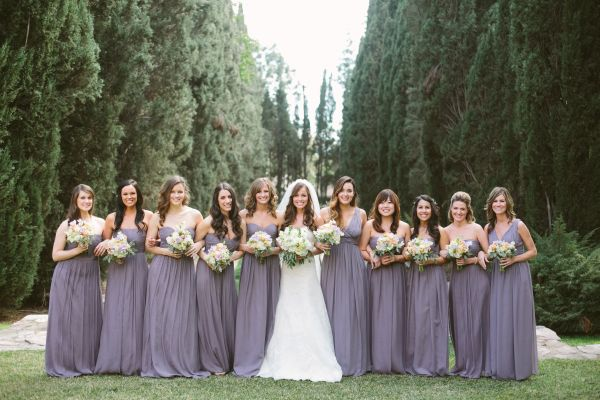 Inspired by Donna Morgan Bridesmaid Dresses - Inspired By This
