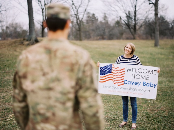 957a5183817 Military Homecoming Love Shoot - Inspired By This