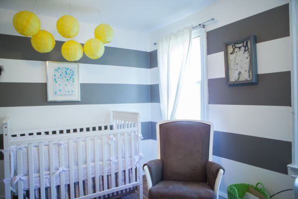 Inspired By This Grey White And Yellow Nursery By Rita