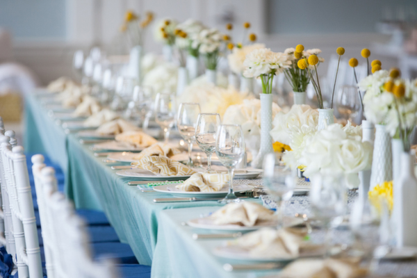 Blue and Yellow Baby Boy Shower by Bob Gail Events - Inspired By This