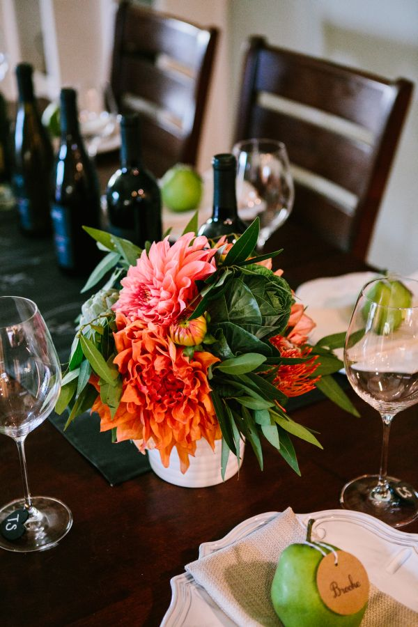 Inspired by Our Fall Wine Tasting Party by Kayla Adams