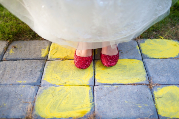 Inspired by This Wizard of Oz Wedding Inspiration Shoot by Tami Melissa Photography