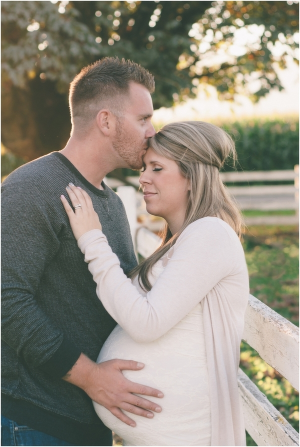 Inspired by This Fall Maternity Session for a Baby Girl by M Houser Photography