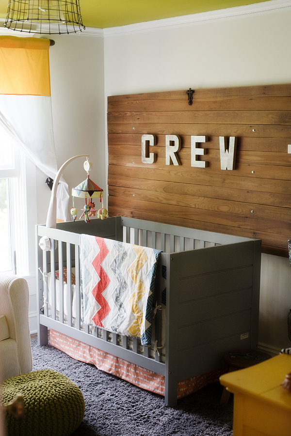 Bright And Happy Nursery By Pretty Plain Janes Inspired