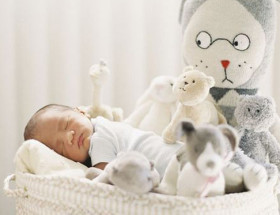 gray-and-white-nursery