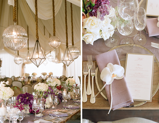 Rustic Purple Wedding by Mindy Weiss (2)