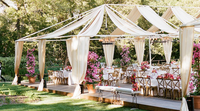 Outdoor Fiesta Wedding by La Fete Weddings