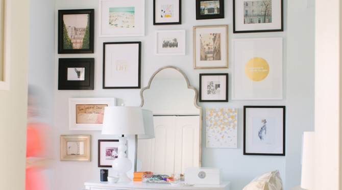 The Perfect Wall Collage