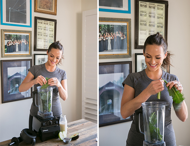 Green Smoothie from Be Well by Kelly