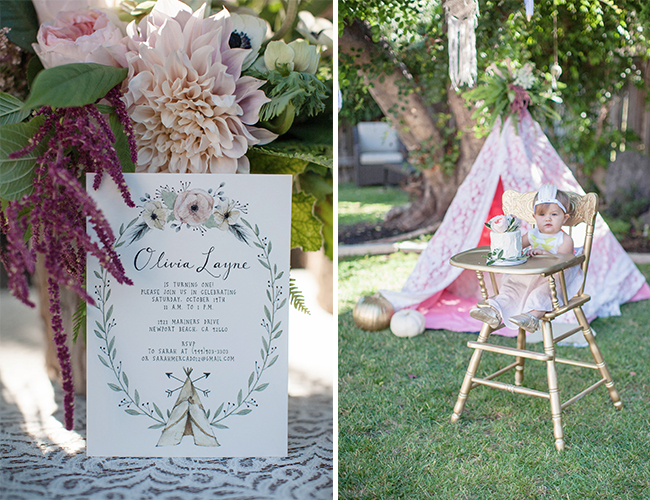 Boho First Birthday Party