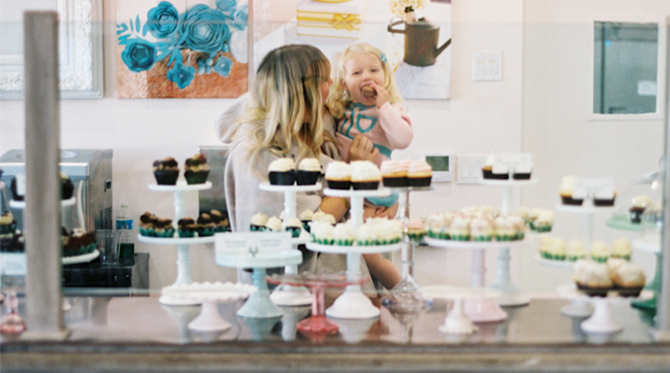 Working Mom: Melody Brandon of Sweet and Saucy Shop
