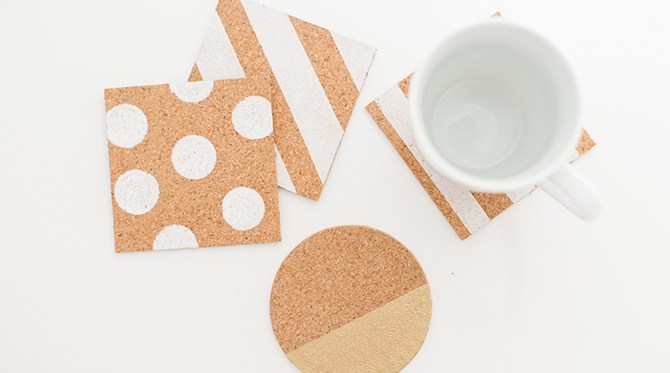DIY Drink Coasters