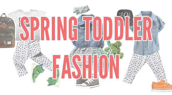 Spring Toddler Fashion