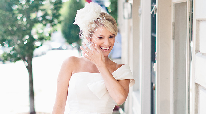5 Styles for Brides with Short Hair