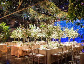 Spring NYC Warehouse Wedding