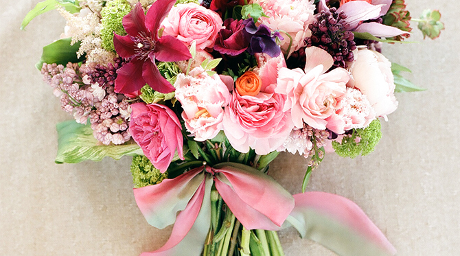 Spring Wedding Flowers Inspired By This