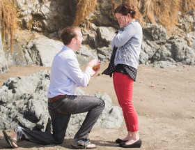 Foggy Beach Proposal