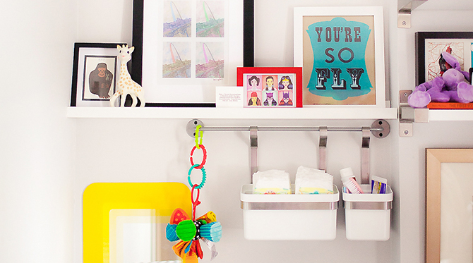 Colorful Nursery Inspiration