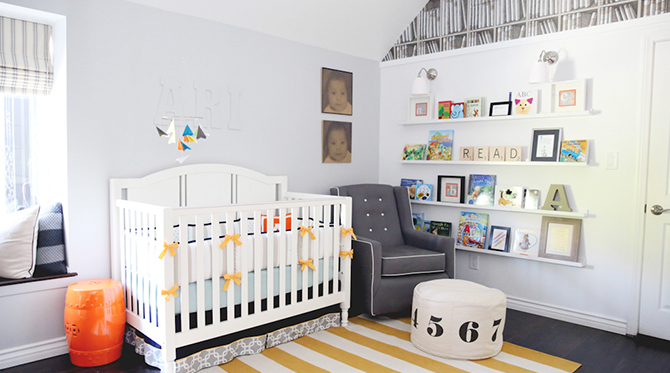 Library Inspired Nursery