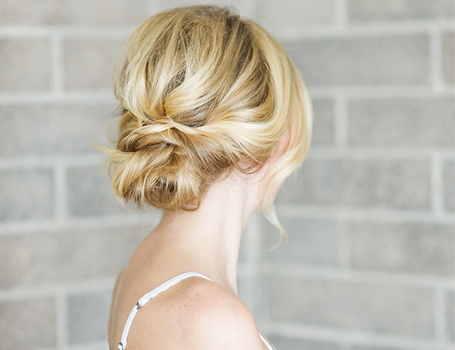 Hair DIY: Overlapped Bun