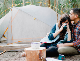 Camping Engagement
