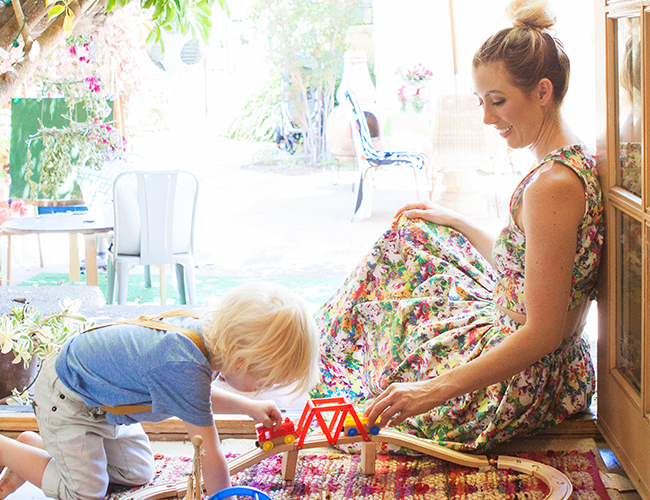 Working Mom: Bel and Beau