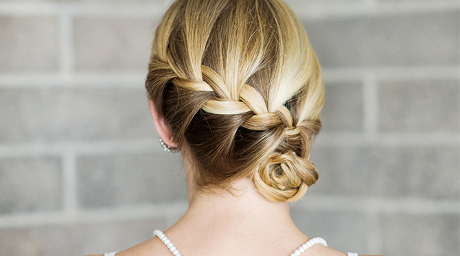 Hair DIY: Braided Side Bun
