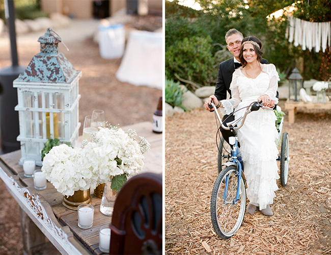 Outdoor Bohemian Wedding by Mary Rosenbaum