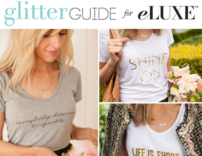 Glitter Guide for eLUXE