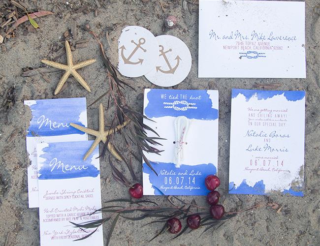 Nautical Wedding on the Dock