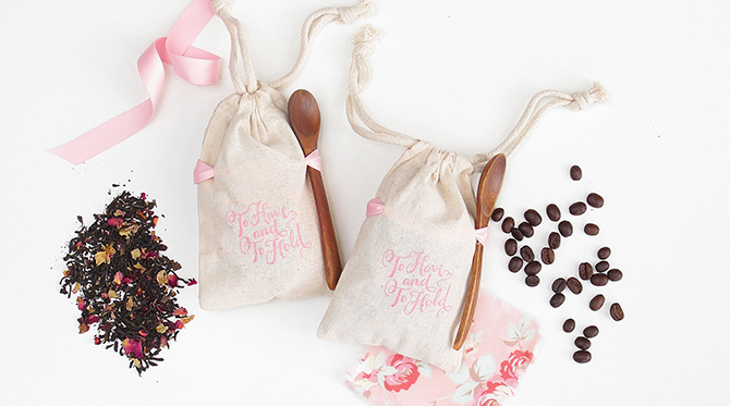 DIY Coffee Bean Wedding Favors