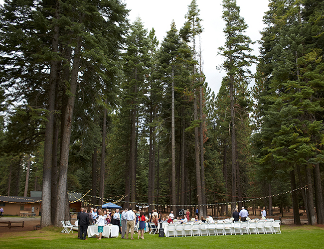 Lake Alamor Wedding in the Woods