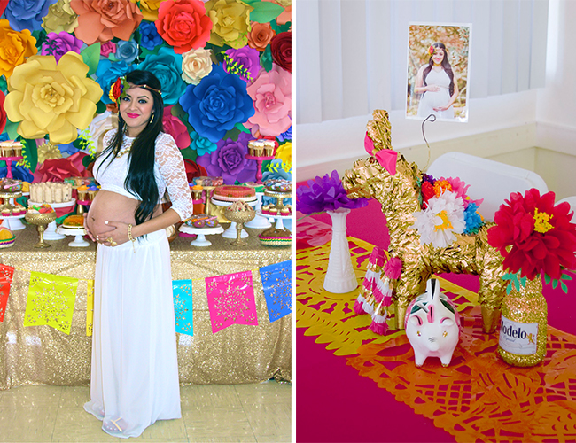 Delightful ... Fiesta Themed Baby Shower ...