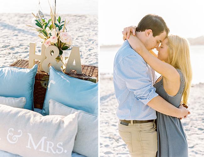 Romantic Beach Proposal