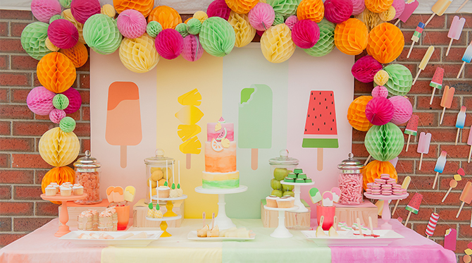 Kids Popsicle Birthday Party - Baby Blog