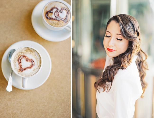 Retro Cafe Engagement