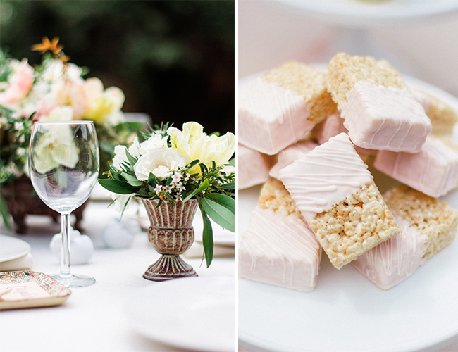 feminine and floral baby shower inspired by this