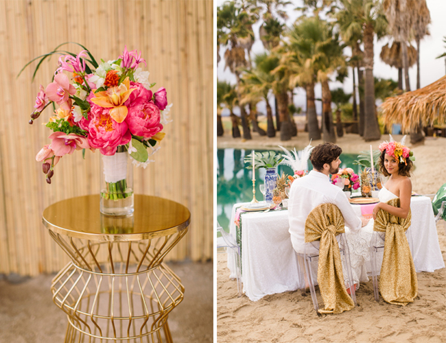 Caribbean Boho Wedding Inspiration - Wedding Blog