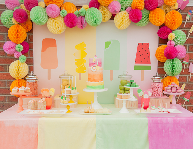 Popsicle Kids Birthday Party Inspired By This Baby Blog - Childrens birthday party events