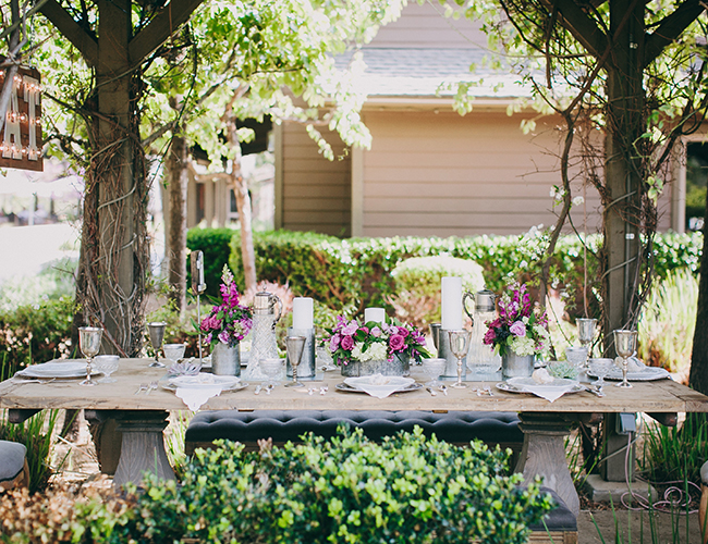 Vintage Garden Wedding Inspiration - Wedding Blog