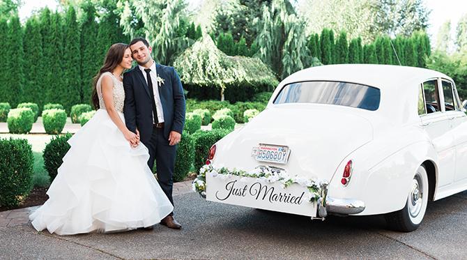Purple and White Estate Wedding - Wedding Blog