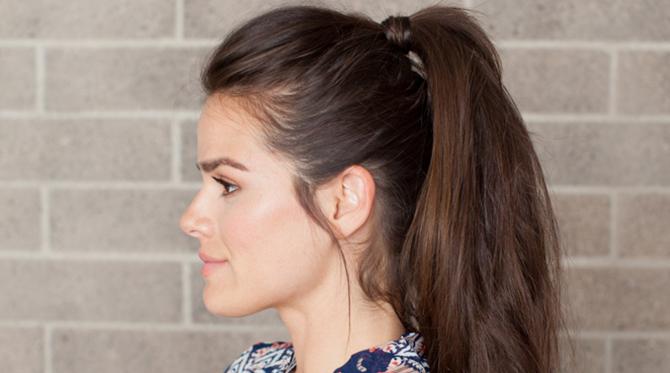 Hair DIY: Double Ponytail - Style Blog