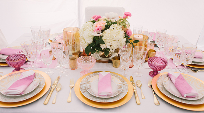 Pink and White Winter Wedding - Wedding Blog