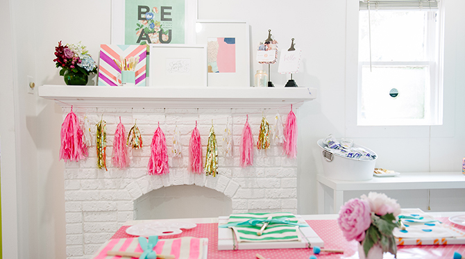 Kids Painting Birthday Party - Baby Blog