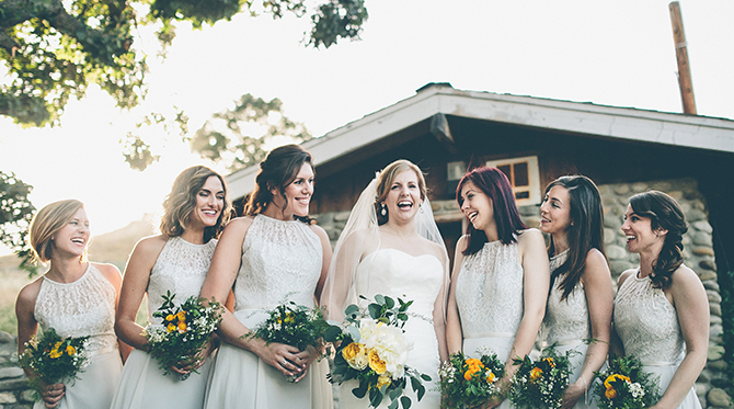 Yellow Wedding at Lincourt Vineyard - Wedding Blog